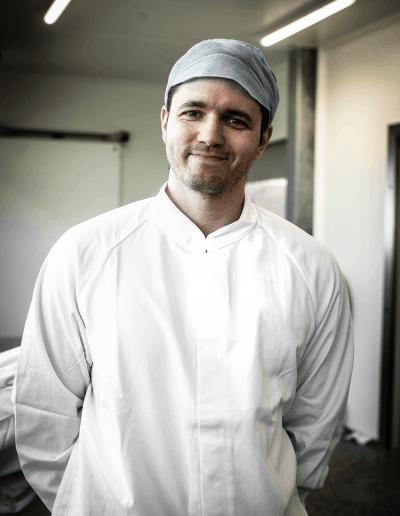 Werknemer van Hesseling Vlees
